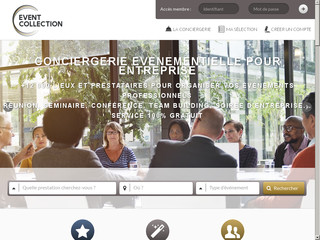 Event Collection : Conciergerie Evénementielle & Plateforme.
